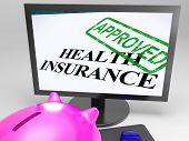 Health Insurance Approved Shows Medical Claim Approval