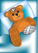 Bear Fell Ill