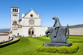 The beautiful Basilica of St. Francis of Assisi