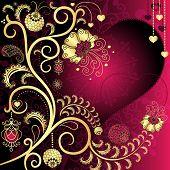 Tarjeta de San Valentín Vintage