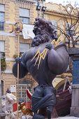 Las fallas en Valencia, España 2013