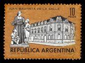 La Salle College And Monument Of John Baptist De La Salle, Argentina