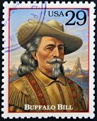 Carimbo imprimido nos EUA mostra o retrato do Buffalo Bill
