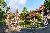 stock photo of vihara  - Brahma Vihara Ashrama Buddist Monastry Banjar North Bali Indonesia - JPG