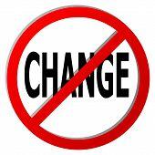 Geen verandering