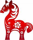 Horse. Chinese New Year 2014 .