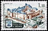 Sedan Castle Stamp