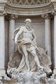 Oceanus In The Fontana Di Trevi