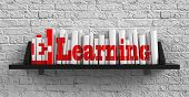 E-learning. Education Concept.
