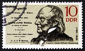 Postage Stamp Gdr 1990 Friedrich Adolph Diesterweg, Educator