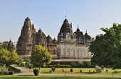 Western Temples Of Khajuraho. Unesco World Heritage Site.