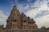 Vishvanatha Temple, Dedicated To Shiva, Khajuraho, India - UNESCO world heritage site.
