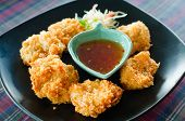 Deep Fried Shrimp Cake (tod Mun Kung)