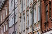 Detail Of Houses At The Market Square Of Lviv