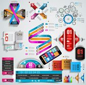 Mega Collection of quality Infographics objects . A lot of different templates ready to display your
