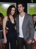 LOS ANGELES - SEP 10:  Jayson Blair & Rumer Willis arrives to the