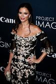 NEW YORK- OCT 24: Designer Georgina Chapman attends the premiere of Canon's 'Project Imaginat10n' Fi