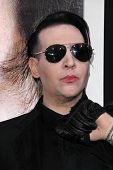 LOS ANGELES - APR 10:  Marilyn Manson at the