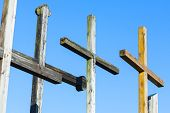Crosses -symbol of Easter.