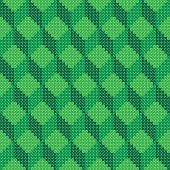 Cross stitch cube geometric pattern seamless