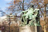 Johann Wolfgang Goethe's statue, Vienna, Austria