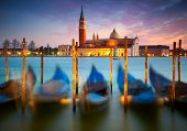Sunset in Venice. Italy
