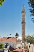 Al-barh Mosque In Jaffa, Israel