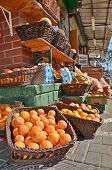 Oranges In The Jaffa Market
