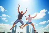 Happiness jump on holidays in Abu Dhabi, UAE