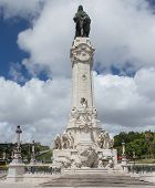 Monument to Marquis de Pombal in Lisbon, Portugal