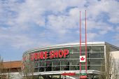 Coquitlam BC Canada - April 14 2014 : Future Shop is Canada's largest consumer electronics retailer.