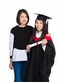 Asia sisterhood with graduate sister