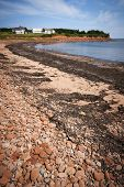 Prince Edward Island coast near village of North Rustico in Green Gables Shore,  PEI, Canada.