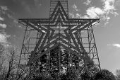 The Roanoke Star, Roanoke, Virginia, USA