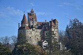 foto of dracula  - The medieval Castle of Bran - JPG
