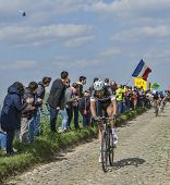 Niki Terpstra The Winner Of Paris-roubaix 2014