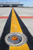 Broken Light On Taxiway