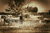 Aged Cars Graveyard