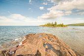 Porter's Island, Lake Superior, Hunters Point Park, Copper Harbor, MI
