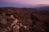pic of rosa  - Scenic Little San Bernardino Mountains and Coachella Valley View - JPG