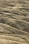 picture of mud  - Dried rivers of mud from Mud Volcanoes Buzau Romania - JPG