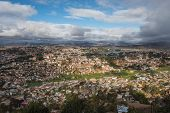 Aerial view of Antananarivo City, Madagascar Capital