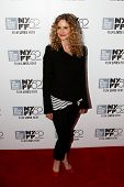 NEW YORK-OCT 5: Actress Kyra Sedgwick attends the premiere of