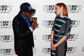 NEW YORK-OCT 5: Actress Jena Malone (R) and Ben Vereen attend the premiere of