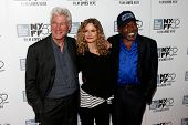 NEW YORK-OCT 5: (L-R) Actors Richard Gere, Kyra Sedgwick & Ben Vereen attend the