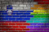 Dark Brick Wall - Lgbt Rights - Slovenia