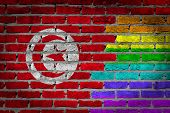 Dark Brick Wall - Lgbt Rights - Tunisia