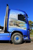 Volvo FH16 750 Timber Truck Of M Sjolund Trans, Detail