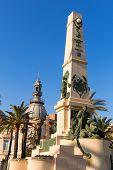Cartagena Murcia Cavite heroes park memorial in Spain poster