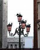 Street Light Full Of Doves
